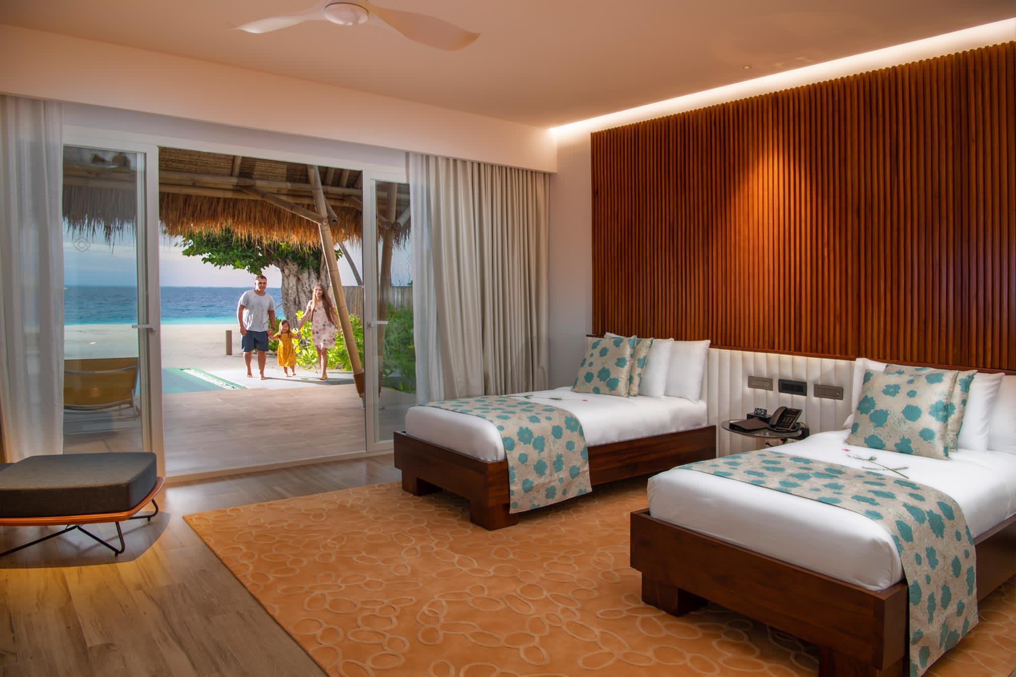 Family Beach Villa bedroom 2
