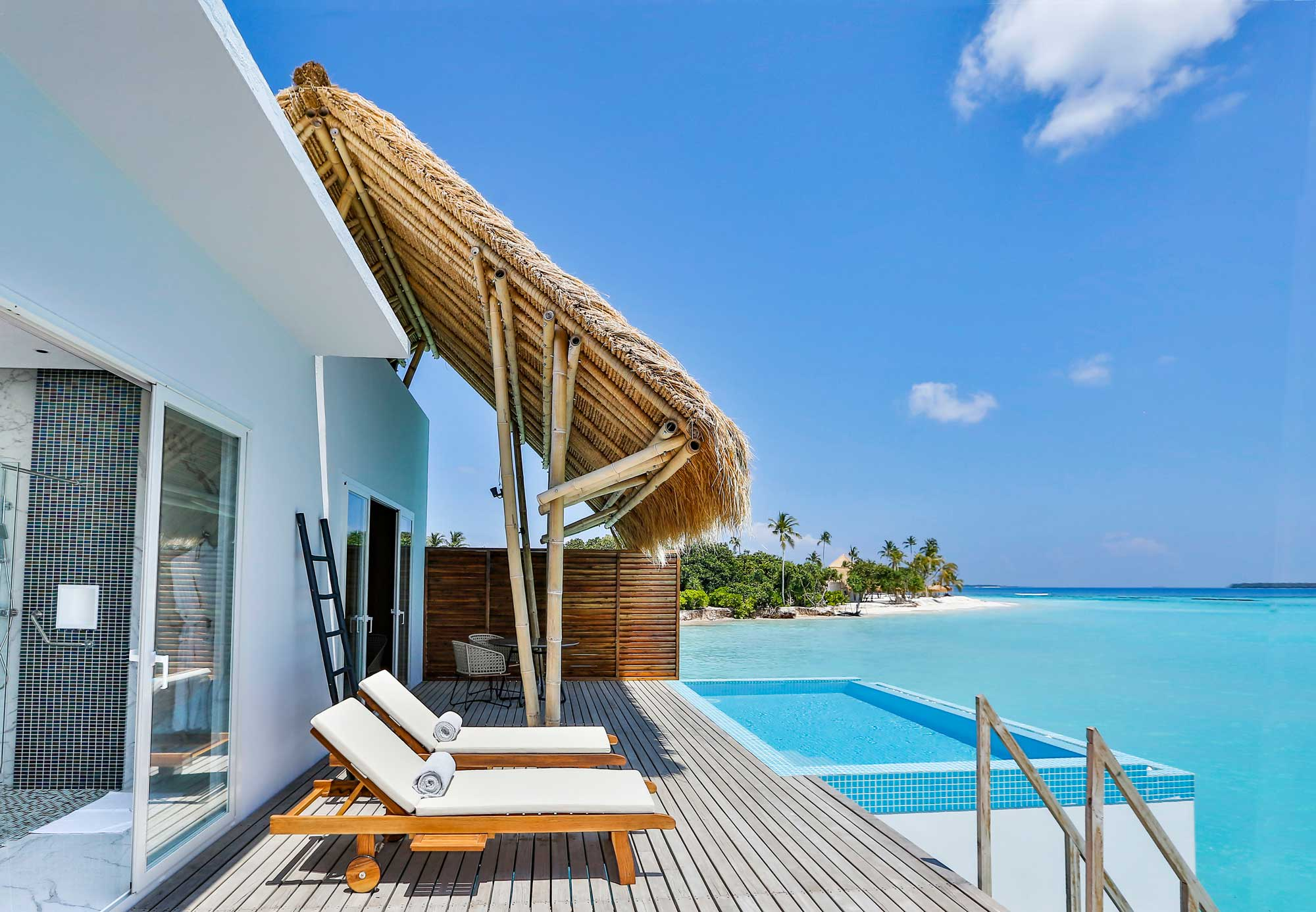 Water Villa with pool