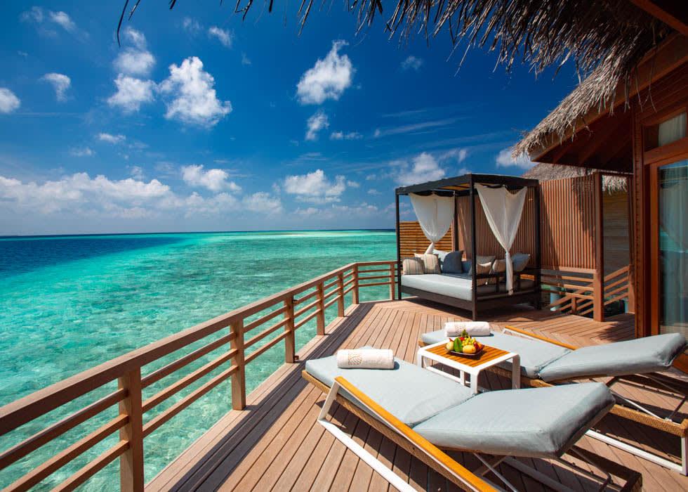 Water Villa deck