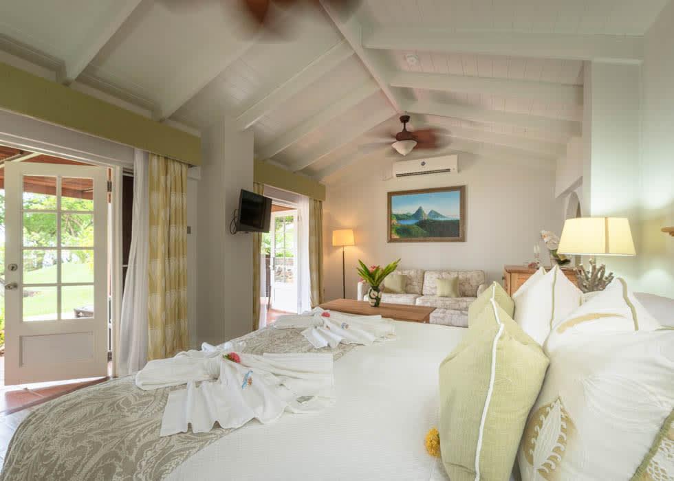 Ocean Front Suite open plan