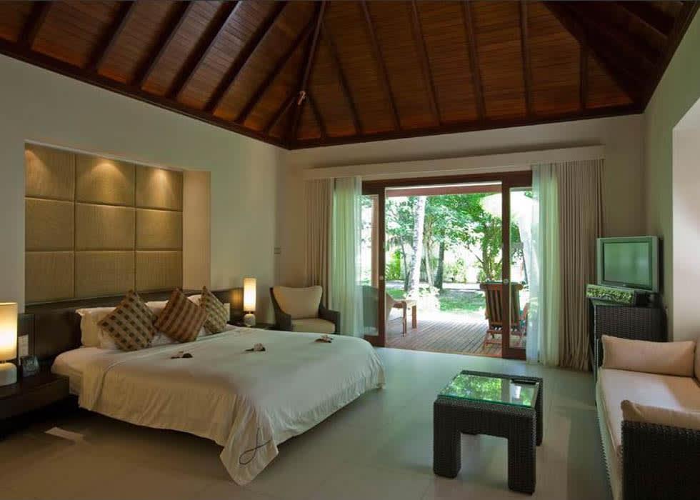 Garden villa interior