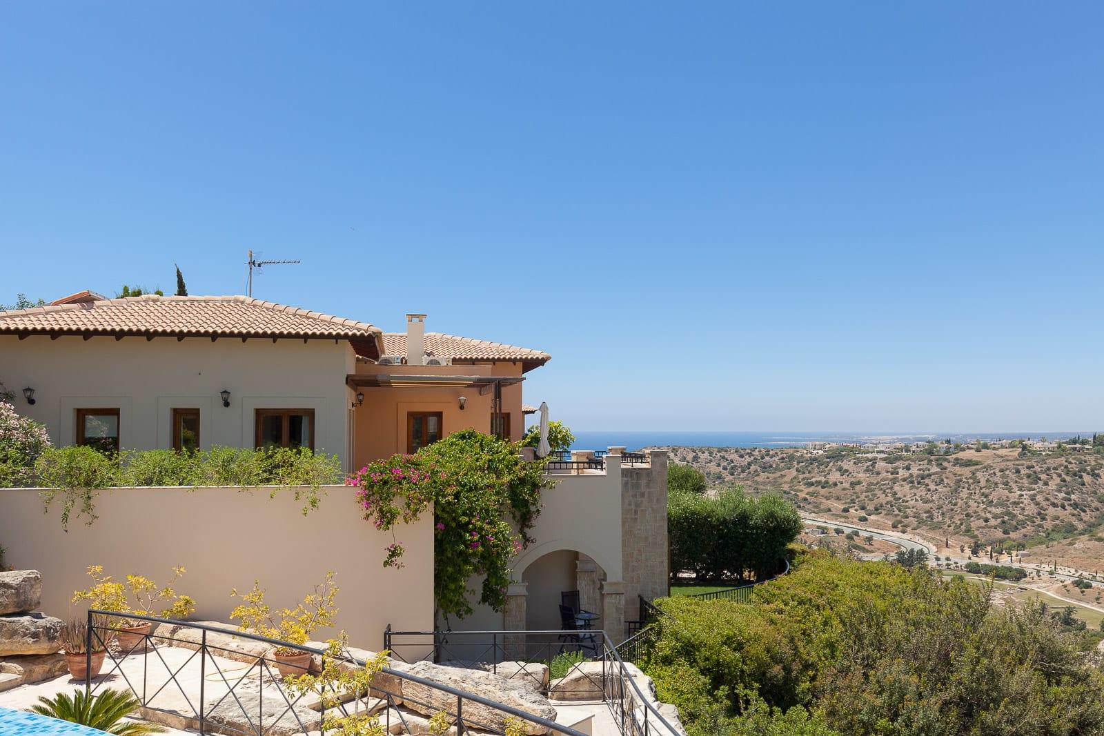 Views from villa