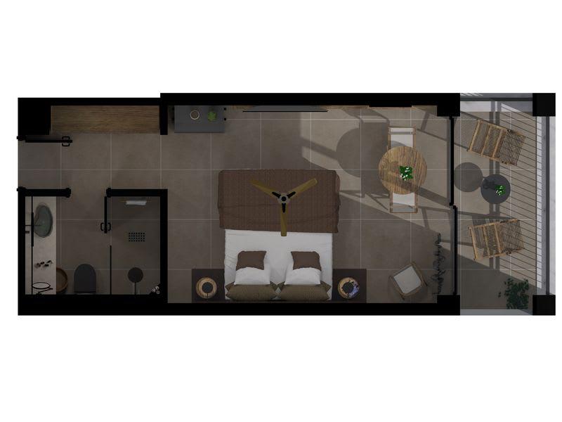 Tropical Retreat floorplan