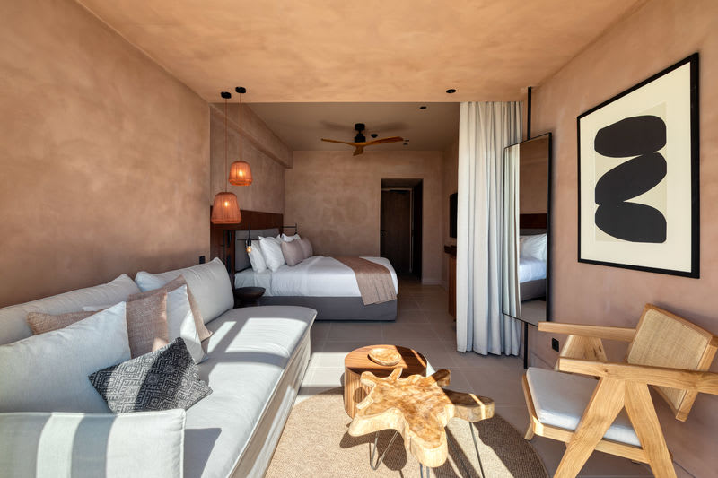 Horizon Open Plan Suite Open plan bedroom