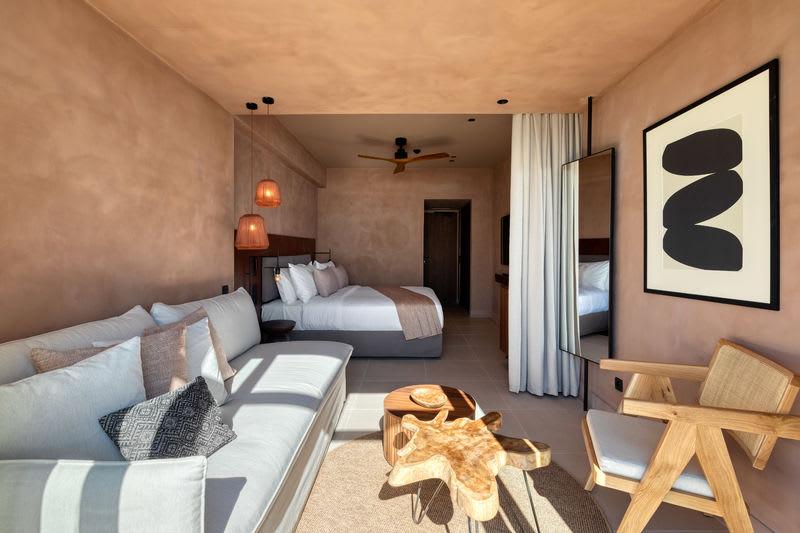 Sapphire Open Plan Suite Living area