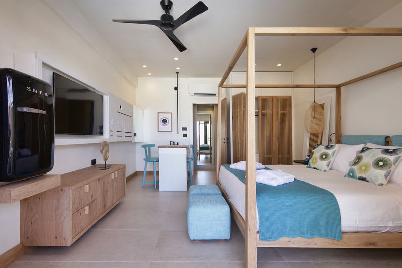 Upbeat Retreat Pool View with Plunge Pool Bedroom