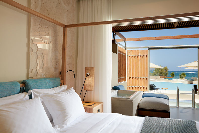 Upbeat Retreat Sea View with Plunge Pool Bedroom