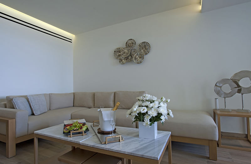 Emerald Suite Sitting Area