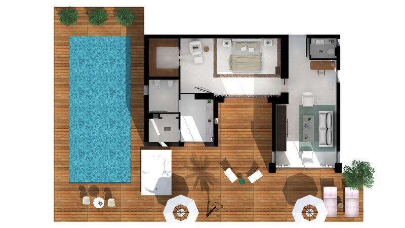 HRH Ivory Villa Floorplan