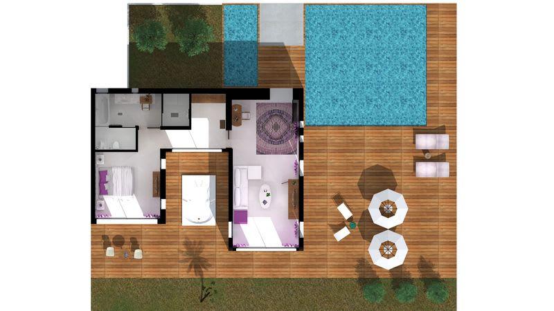 HRH Pearl Villa Floorplan