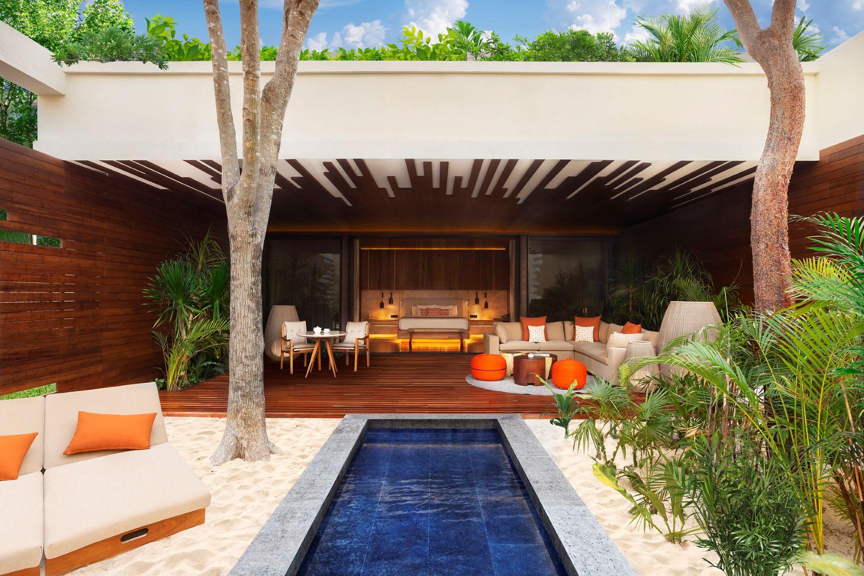 Beachfront Pool Suite Exterior Pool