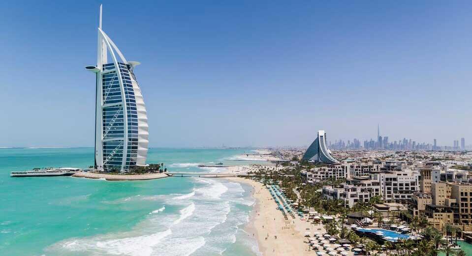 Burj Al Arab coastline