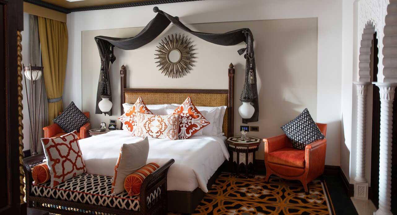 Araian style hotel room