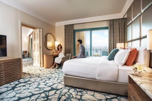 Terrace Club suite bedroom