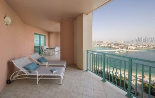 Terrace Club suite balcony