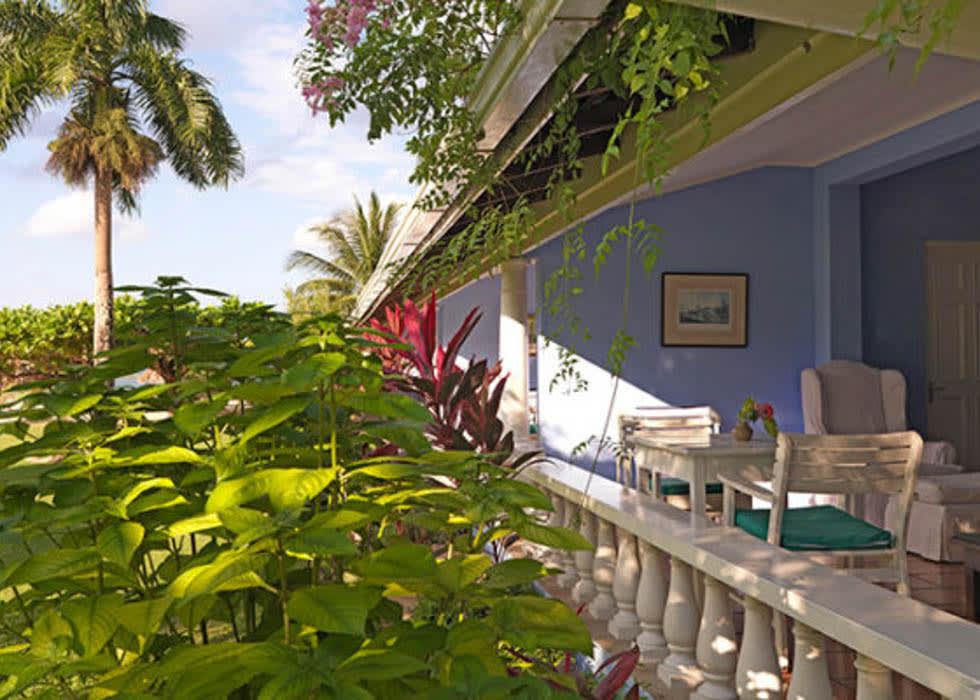 Deluxe Verandah Suite location