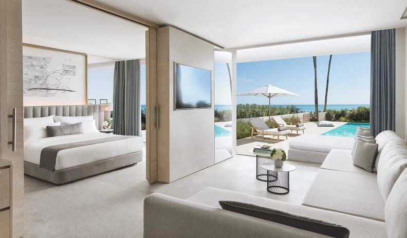 Deluxe One Bedroom Suite Private Pool Sea View