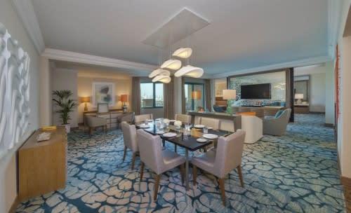 Regal Suite living room