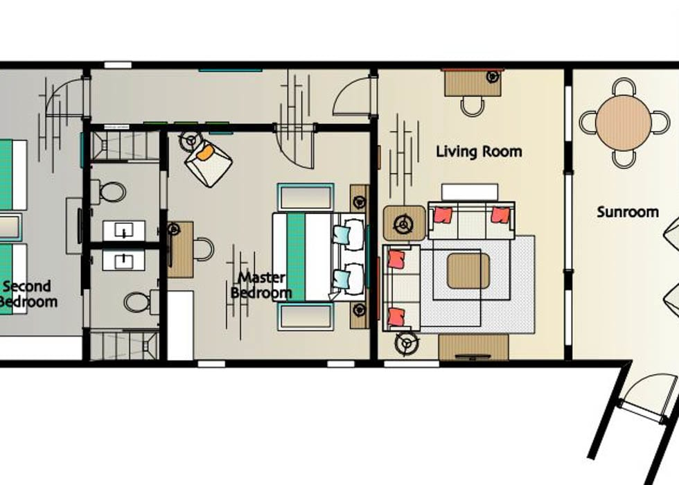 Two bedroom suite   classic