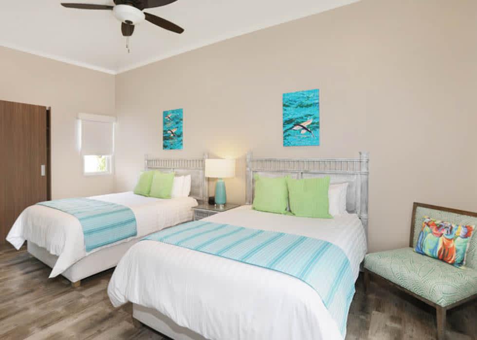 Two bedroom suite twin