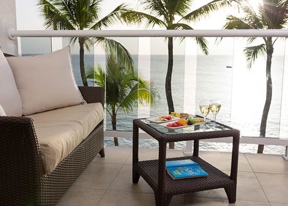 Ocean Front Junior Suite balcony