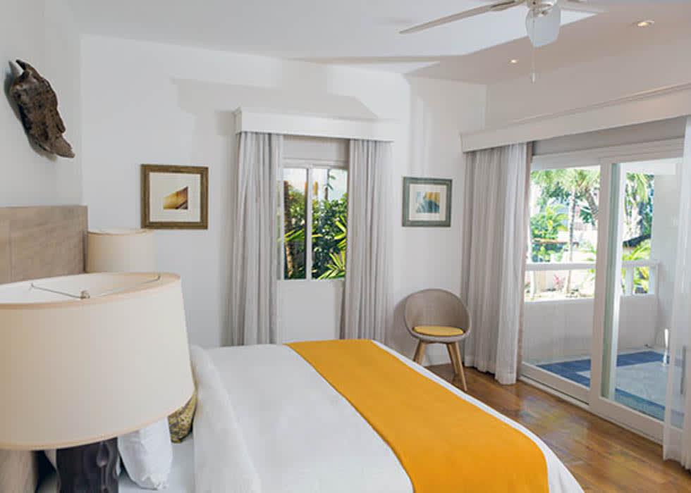 Pool View Spa bedroom