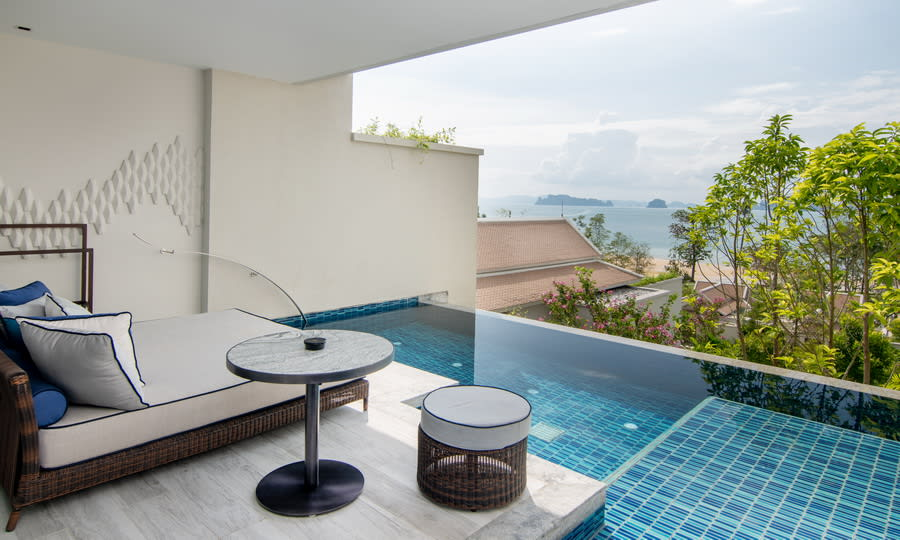 Deluxe Pool Suite View
