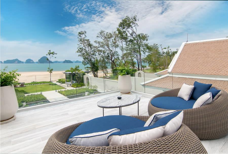Presidential Beachfront Pool Villa Outdoor