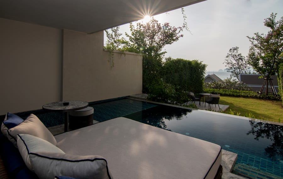Deluxe Garden Pool Suite 7