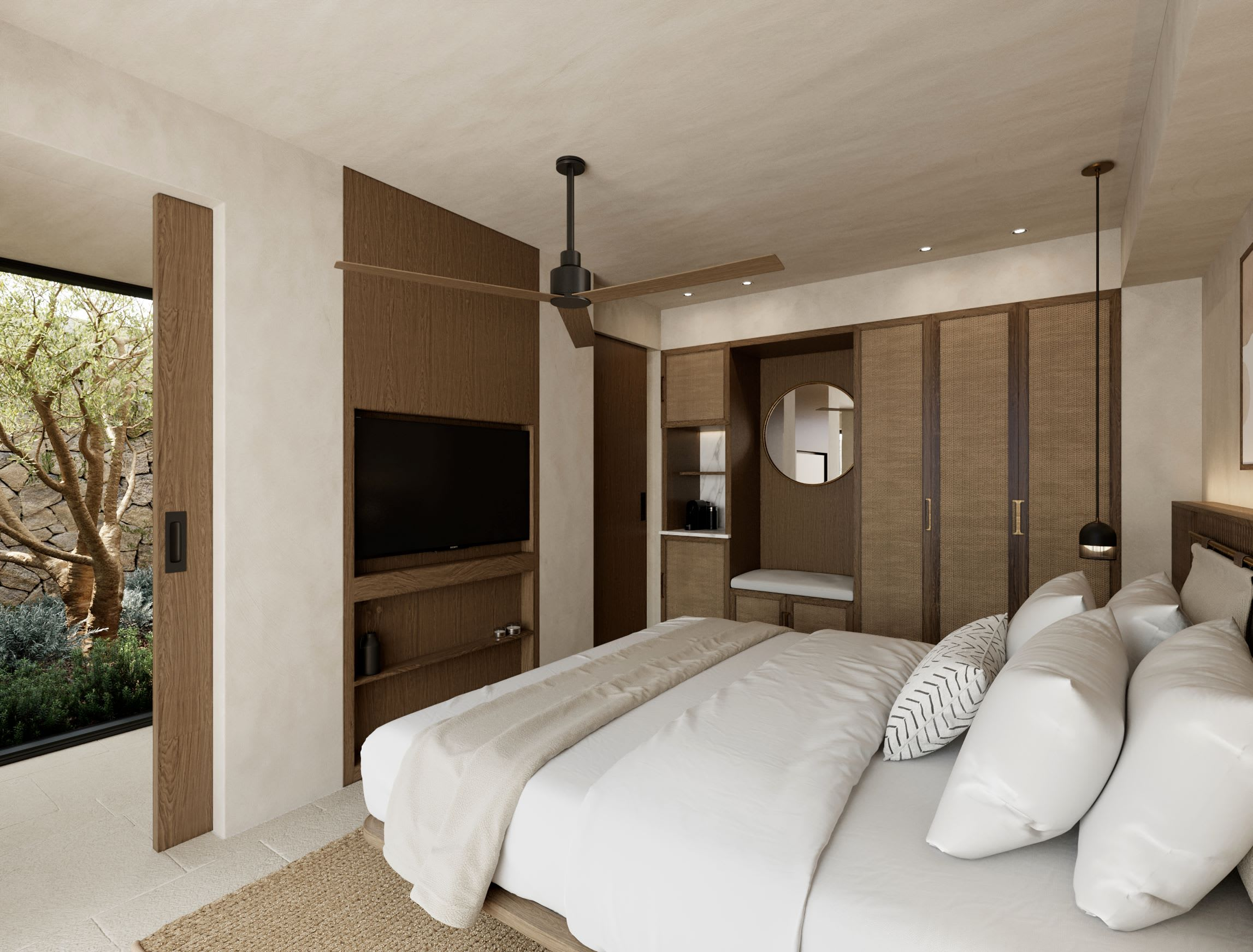 Executive Suite Master Bedroom