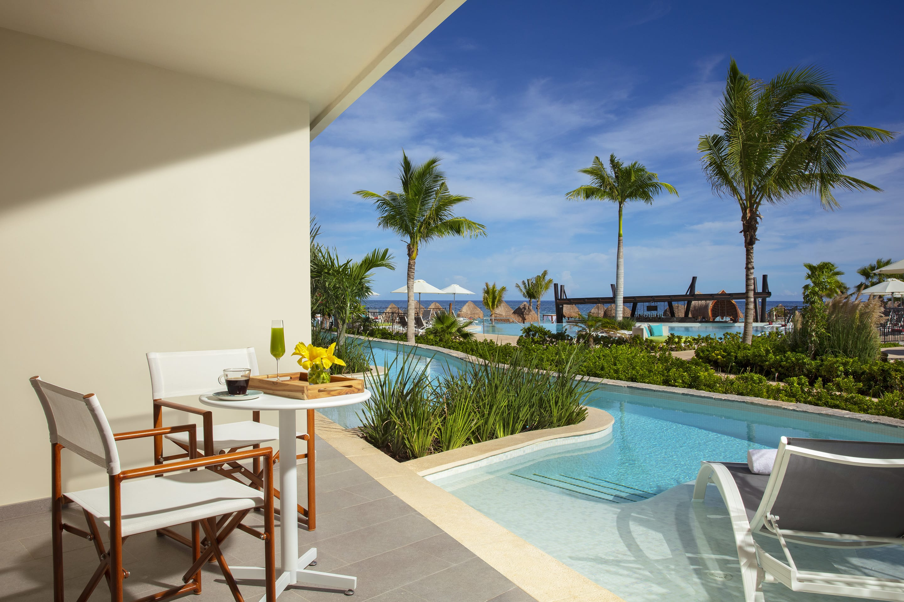 Preferred Club Junior Suite with Swim out Terrace