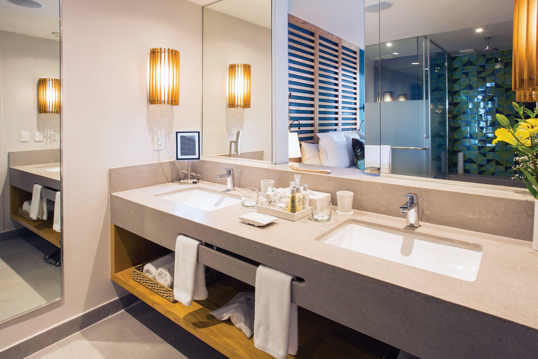 All Preferred Club bathrooms