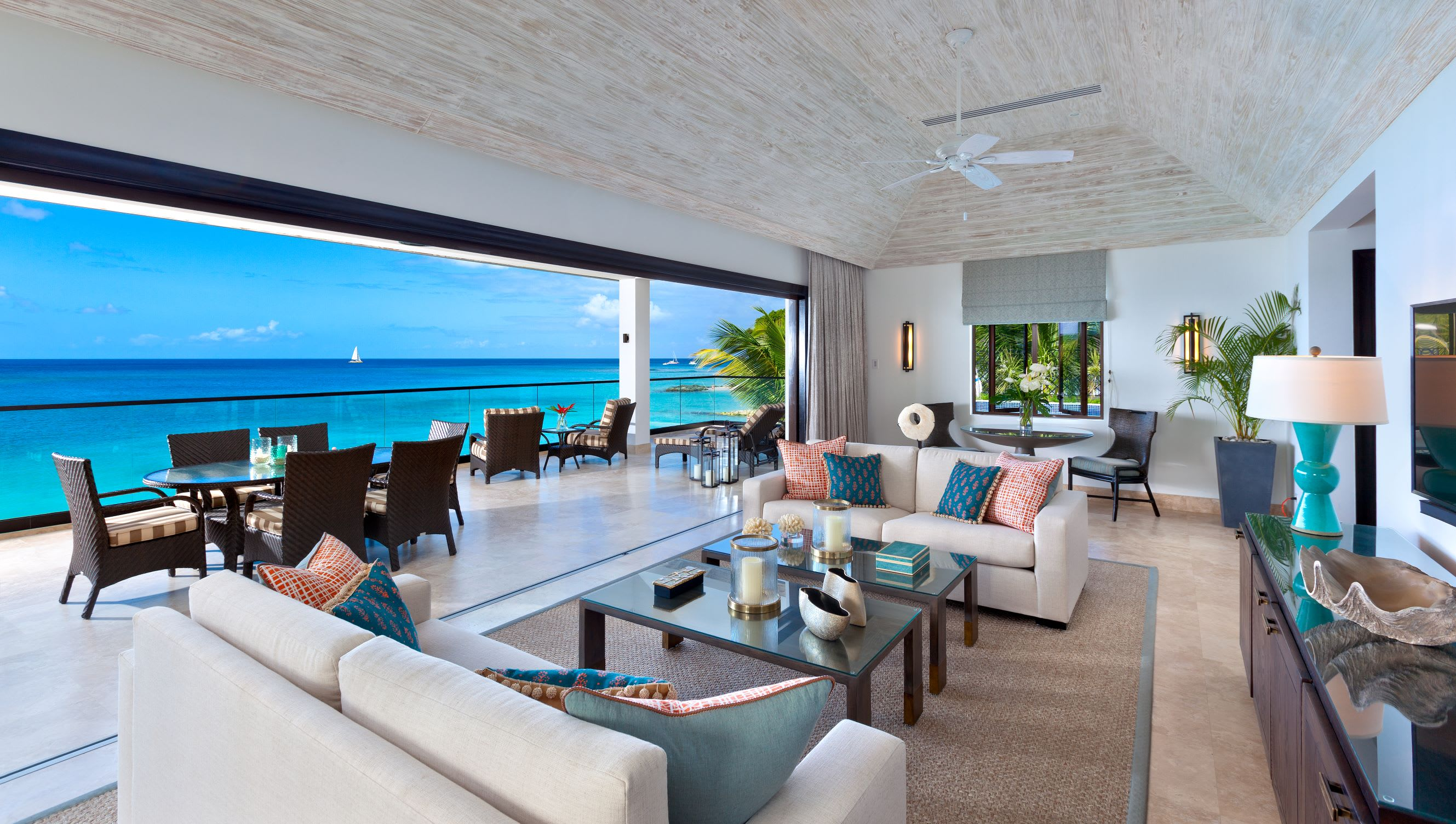 Beach House Suite Sand Dollar   living room