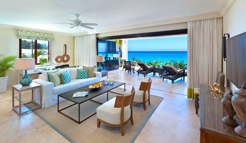 Beach House Suite Sand Dollar   living room1
