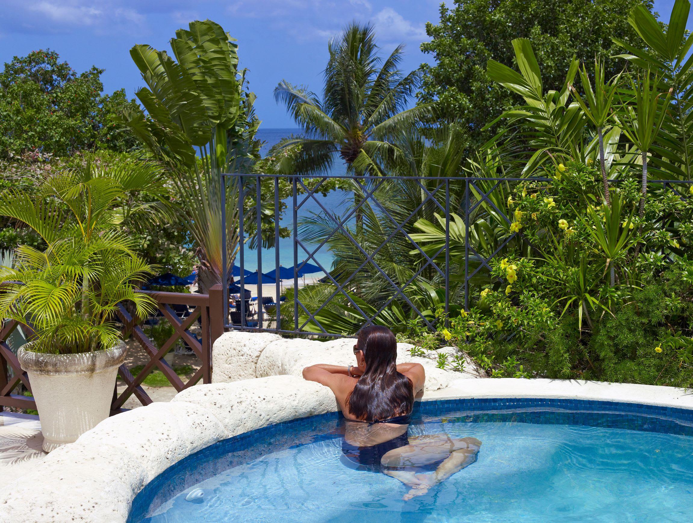 Tree Top Suite plunge pool