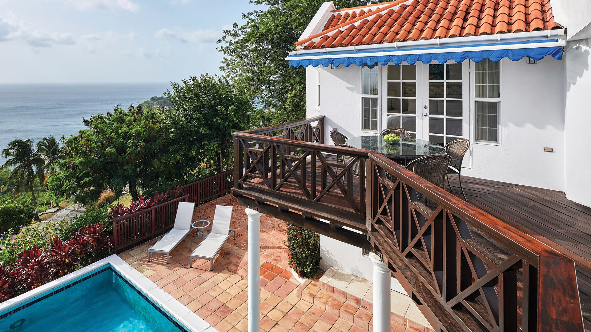 Premium Four Bed balcony and terrace