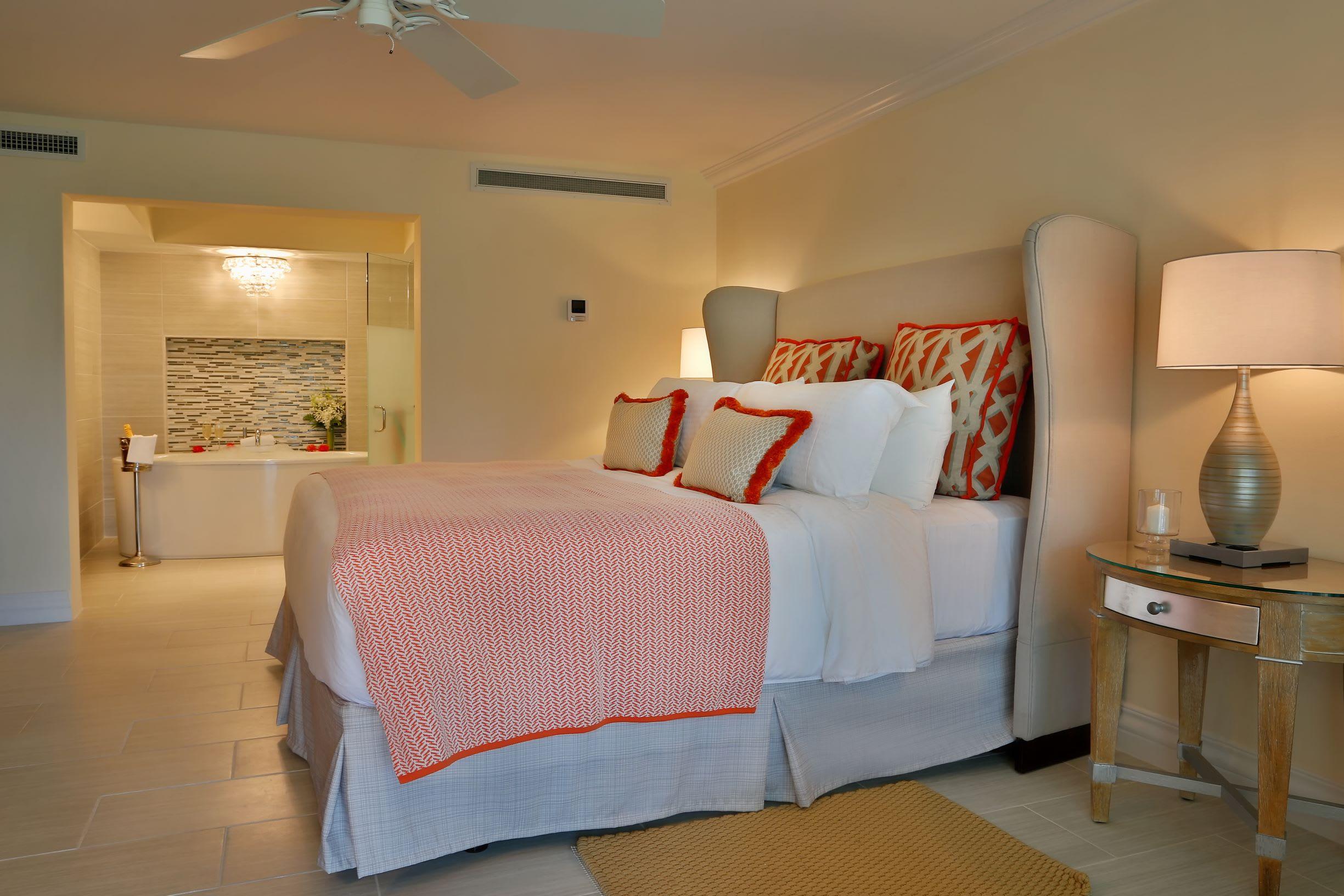 Verandah Suite bed