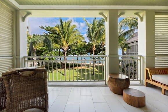 Ocean Junior Suite balcony