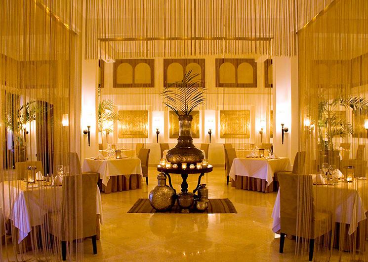 Baraza Dining Entrance