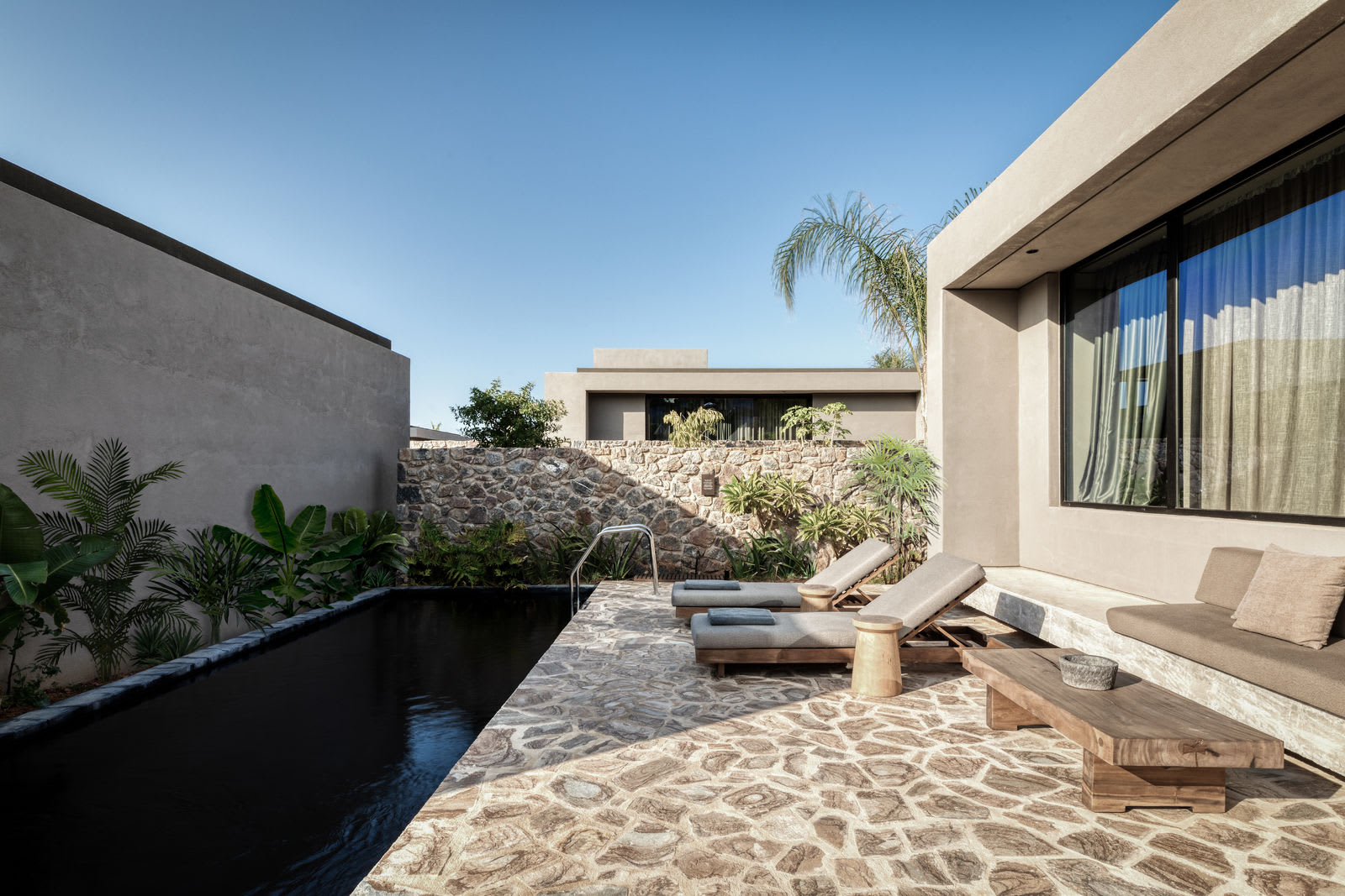 Tropical family grand pavilion pool