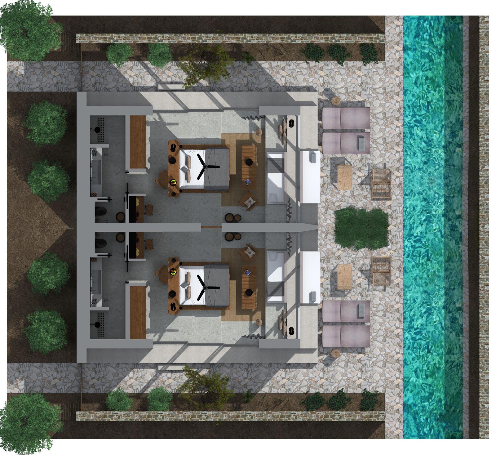 Tropical Family Grand Pavilion Floorplan