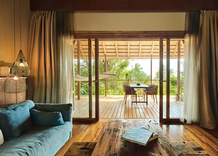 Zuri Zanzibar Ocean Front Suite Living Room