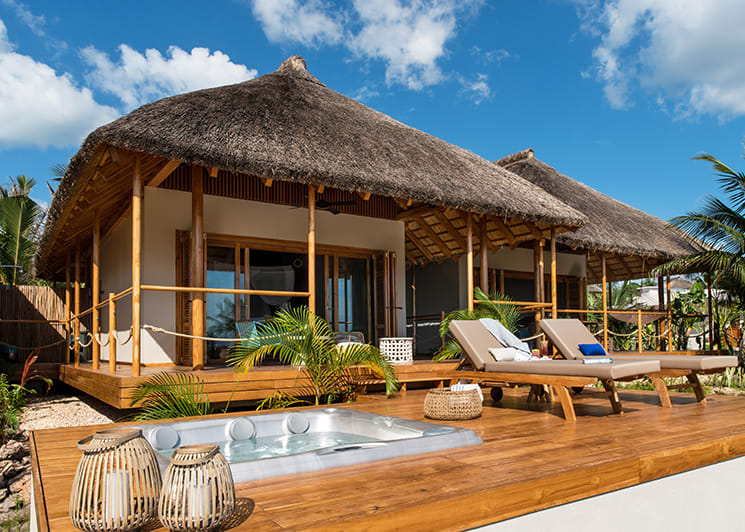 Zuri Zanzibar Ocean Front Suite Exterior