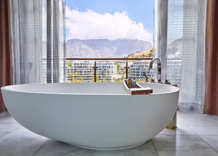 One&Only Cape Town Presidential Suite Bath