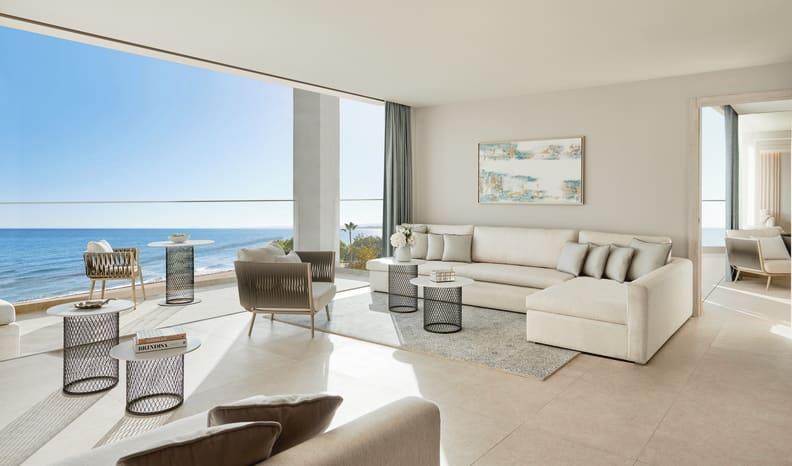 Deluxe Two Bedroom Suite Sea View