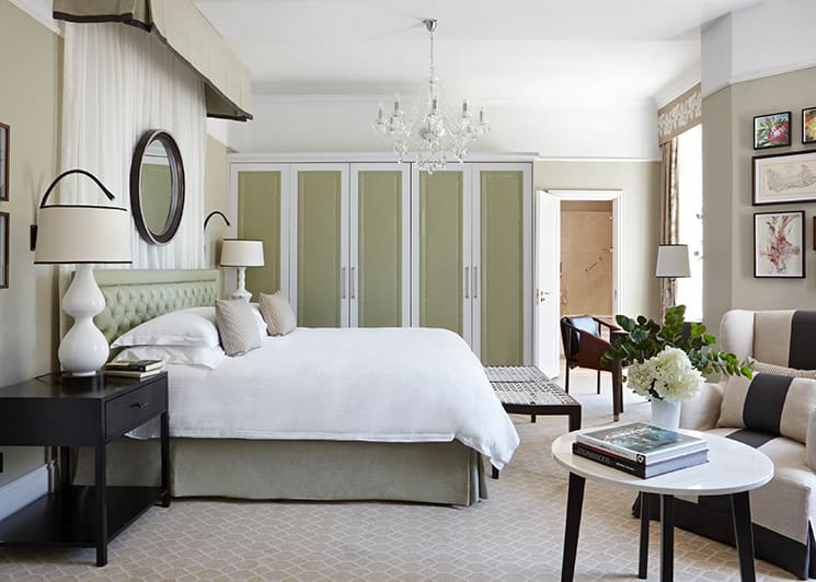 Mount Nelson Deluxe Room Bed