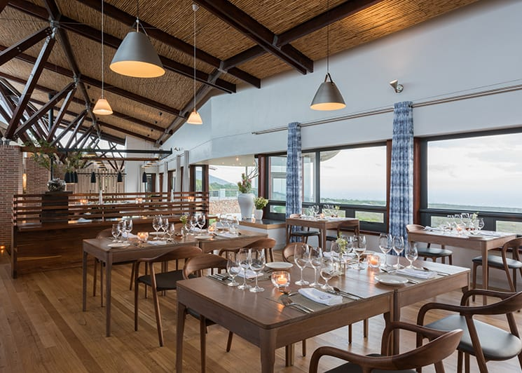 Grootbos Forest Lodge Dining Area