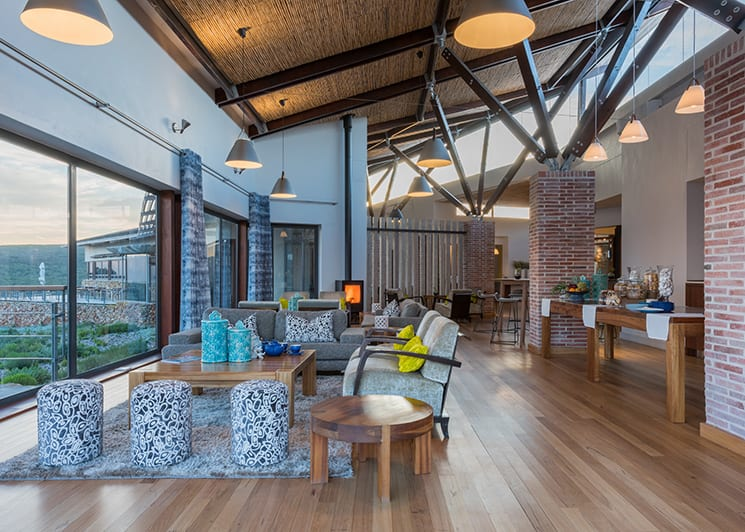 Grootbos Forest Lodge Lounge Area