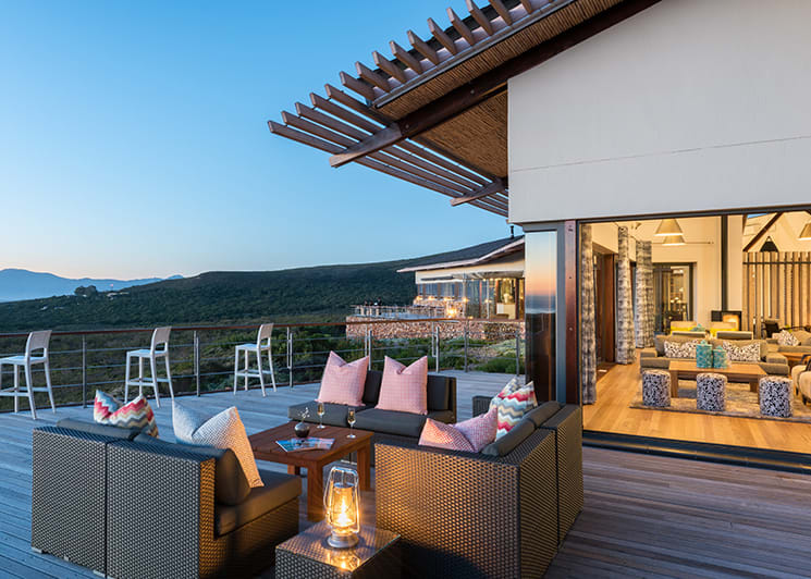 Grootbos Forest Lodge Pool Deck