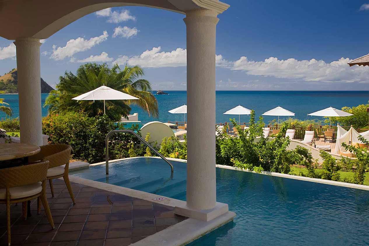 Ocean view Villa Suite with Pool